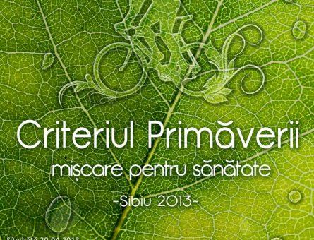 2013.05.01 Criteriul Primaverii