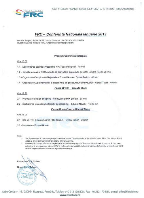 Conf Nat FRC