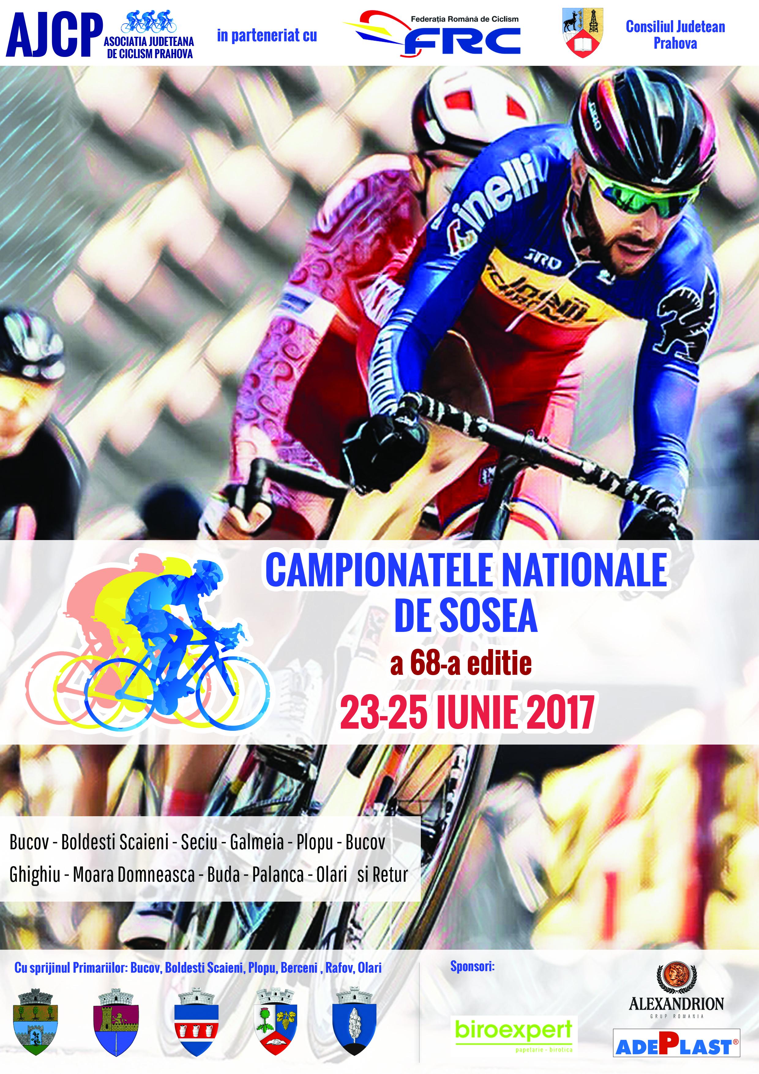 campionatele nationale de sosea ciclism 2017